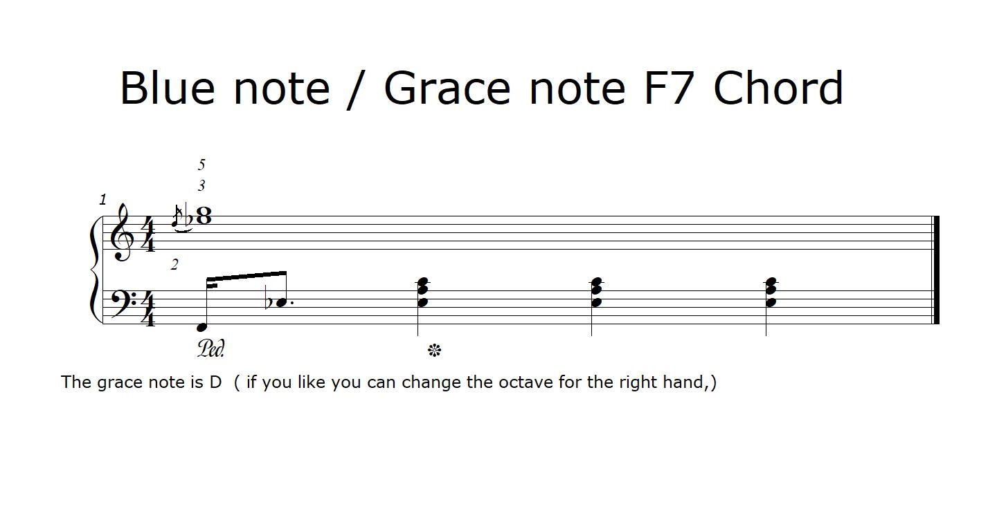 blue note f7