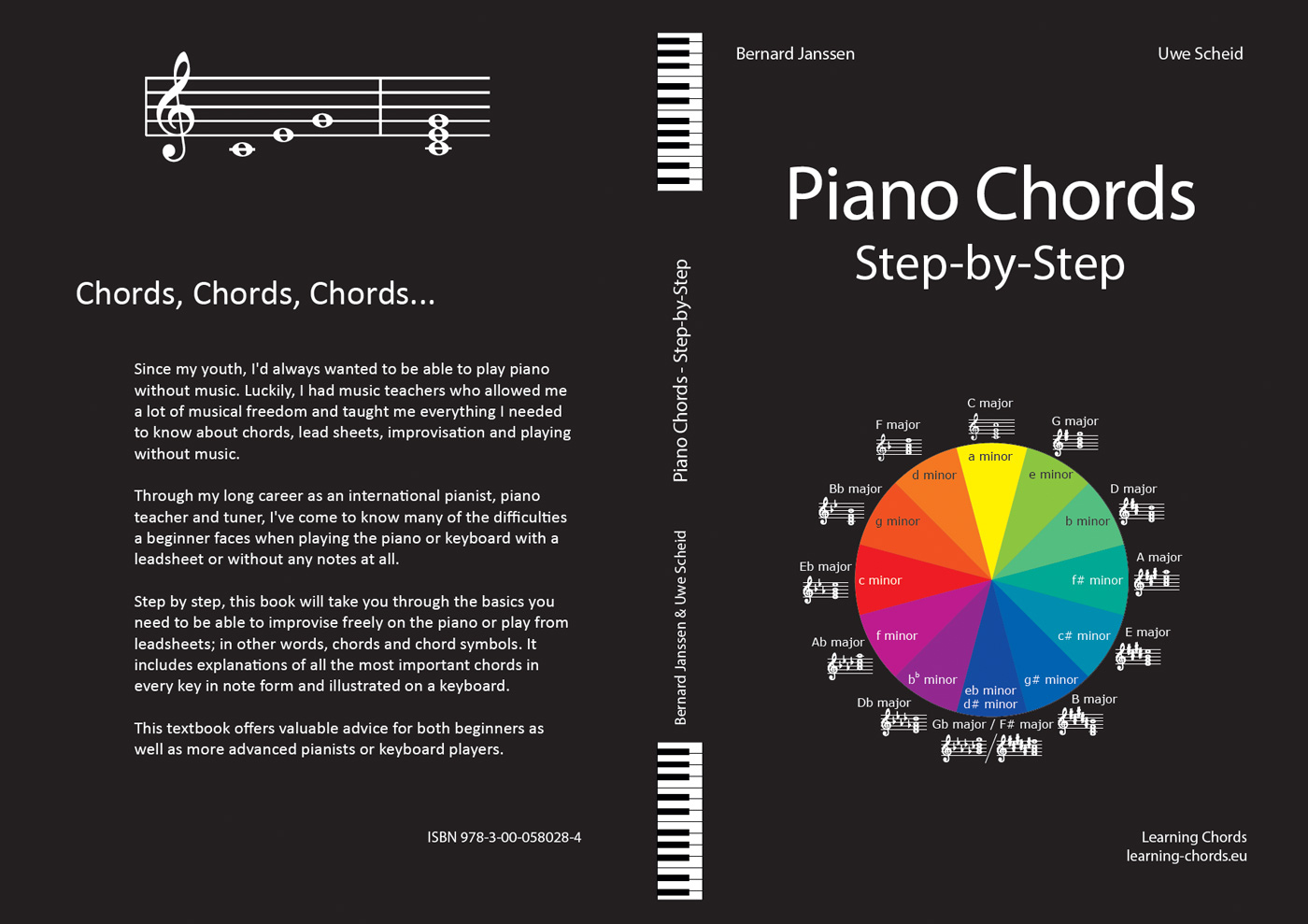 piano chords step by step
